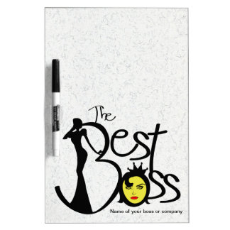 The Best lady boss Dry Erase Whiteboards