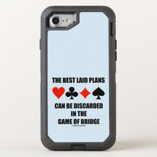 The Best Laid Plans Can Be Discarded In Bridge OtterBox Defender iPhone 8/7 Case