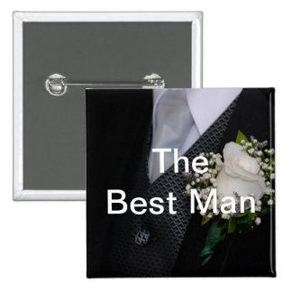 The Best Man Pin