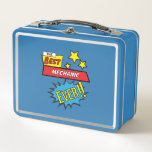 "The best mechanic ever, #mechanic metal lunch box<br><div class=""desc"">The best mechanic ever,  #mechanic</div>"