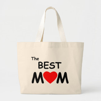 The Best Mom Canvas Bag