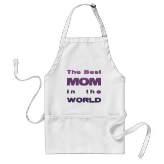 The Best Mom in the World Apron