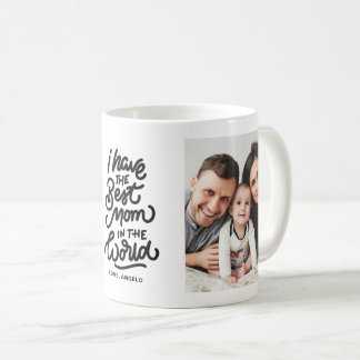 The Best Mom in the World Photo Collage Mug