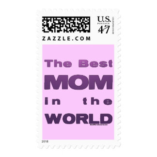 The Best Mom in the World Postage