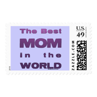 The Best Mom in the World Stamp