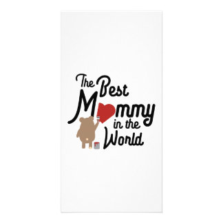 The best Mommy in the World Zm0vd Card