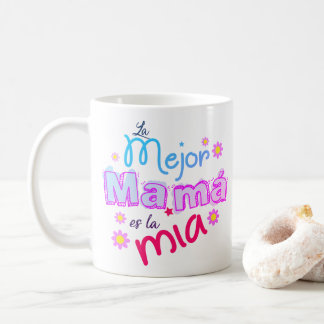 THE BEST MOTHER COFFEE MUG