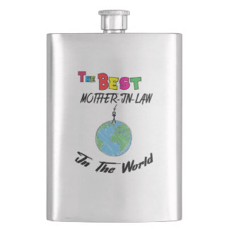 The Best mother-in-law in the World, mother-in-law Flask
