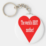 The Best Mother Keychain