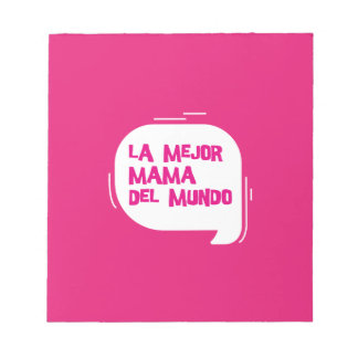 The best mother of the world notepad