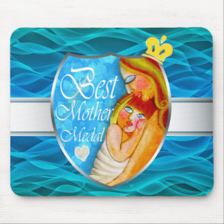 The Best Mother trophy Mouse Pad
