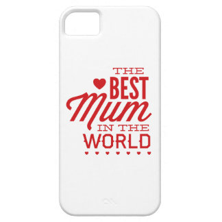 The Best Mum In The World iPhone SE/5/5s Case