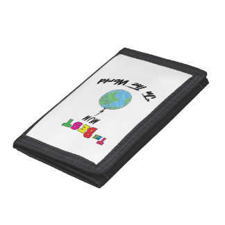 The Best mum in the World, mum Trifold Wallet