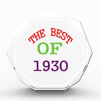The Best OF 1929 Acrylic Award