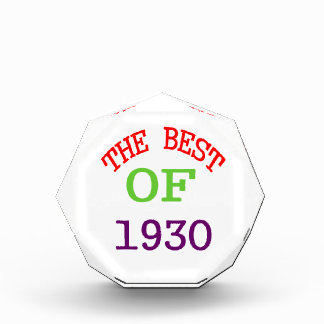 The Best OF 1929 Award