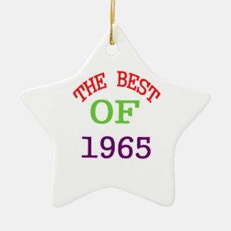The Best OF 1965 Ceramic Ornament