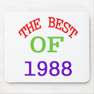 The Best OF 1988 Mouse Pad