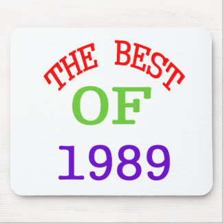 The Best OF 1989 Mouse Pad