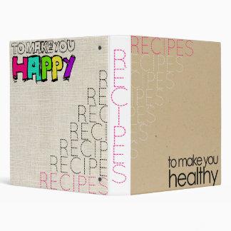 The Best of Both Worlds: Happy & Healthy Binder