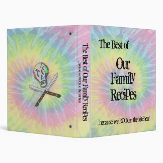 The Best of Family Recipes cookbook binder