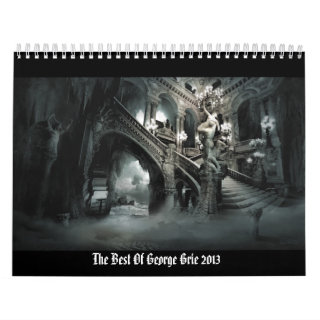 """""""The Best Of George Grie"""" wall calendar"""