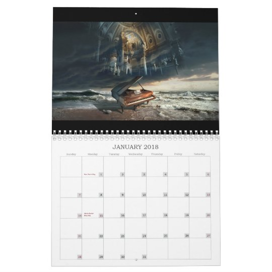 """The Best Of George Grie"" wall calendar"