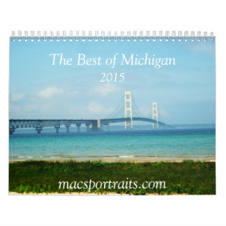 The Best of Michigan Calendar 2015