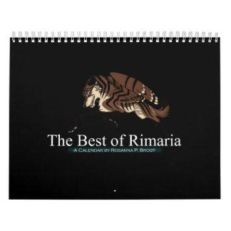 The Best of Rimaria Calendar