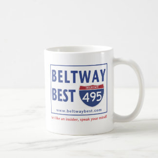 The Best of the Beltway Classic White Coffee Mug