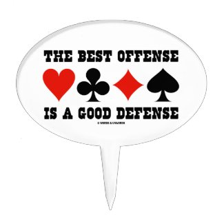 The Best Offense Is A Good Defense (Card Suits)