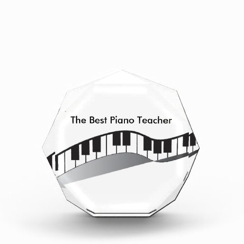 The Best Piano Teacher Award