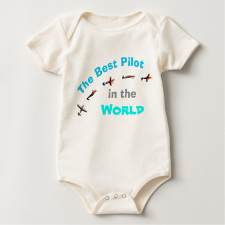 The Best Pilot in the World Baby Bodysuit