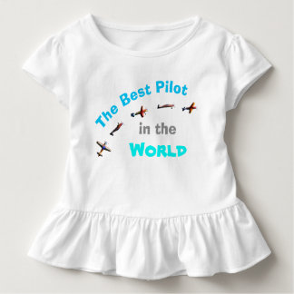 The Best Pilot in the World Toddler T-shirt