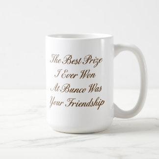 the best prize I ever won at Bunco Coffee Mug