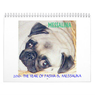 THE BEST PUGS IN THE WORLD CALENDAR