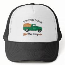 The Best Pumpkin Patch & Vintage Farm Truck Trucker Hat