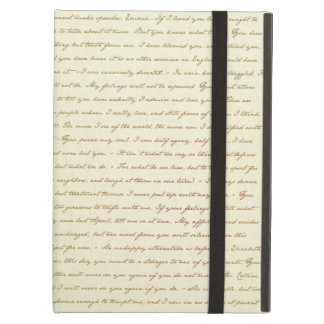The Best Quotes from Jane Austen iPad Air Cover