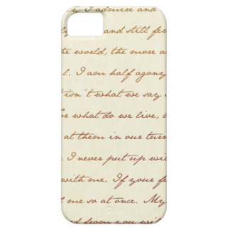 The Best Quotes from Jane Austen iPhone SE/5/5s Case