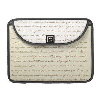 The Best Quotes from Jane Austen MacBook Pro Sleeve