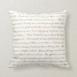 The Best Quotes from Jane Austen Pillow