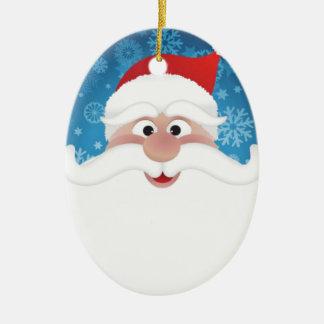 The Best Santa Christmas Ornament