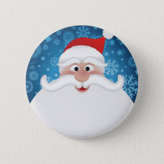 The Best Santa Pinback Button