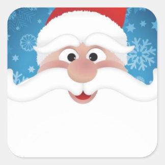 The Best Santa Square Sticker