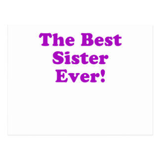 The Best Sister Ever Postcard