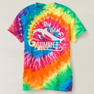 Beach Themed The Best Summer. Dolphin. T-shirt