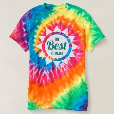 Beach Themed The Best Summer. T-shirt