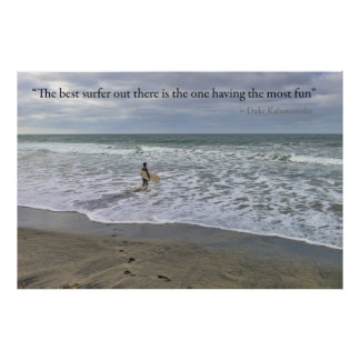 The best surfer... poster