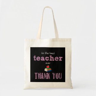the best teacher, thank you tote bag