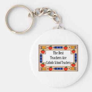 The Best Teachers Are Catholic School Teachers Keychains