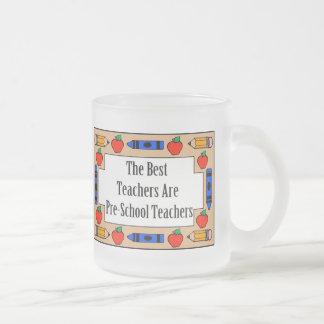 The Best Teachers Are Pre-School Teachers Coffee Mug